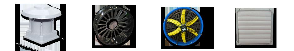 Accessori per la ventilazione industriale