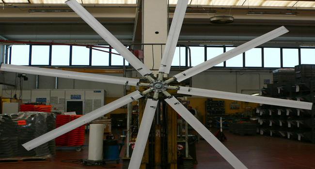 Impeller diam. 4mt - 8 blades