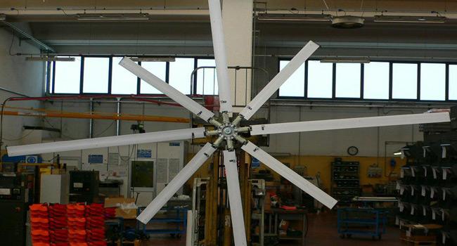 Impeller diam. 5mt - 4+4 blades