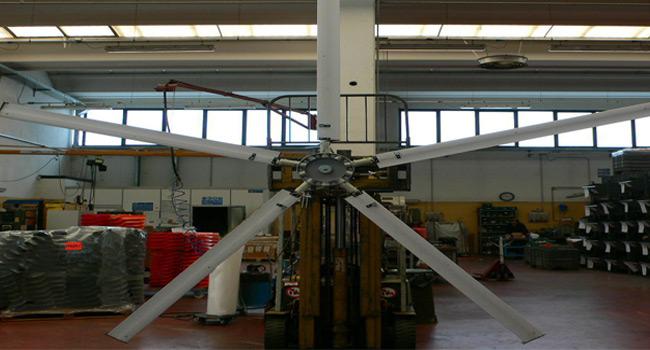 Impeller diam. 6mt - 5 blades